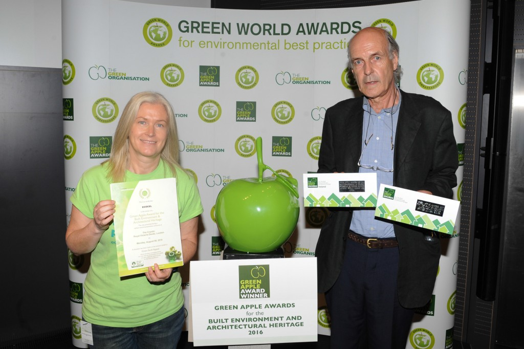 Ecocel Wins Green Apple Award