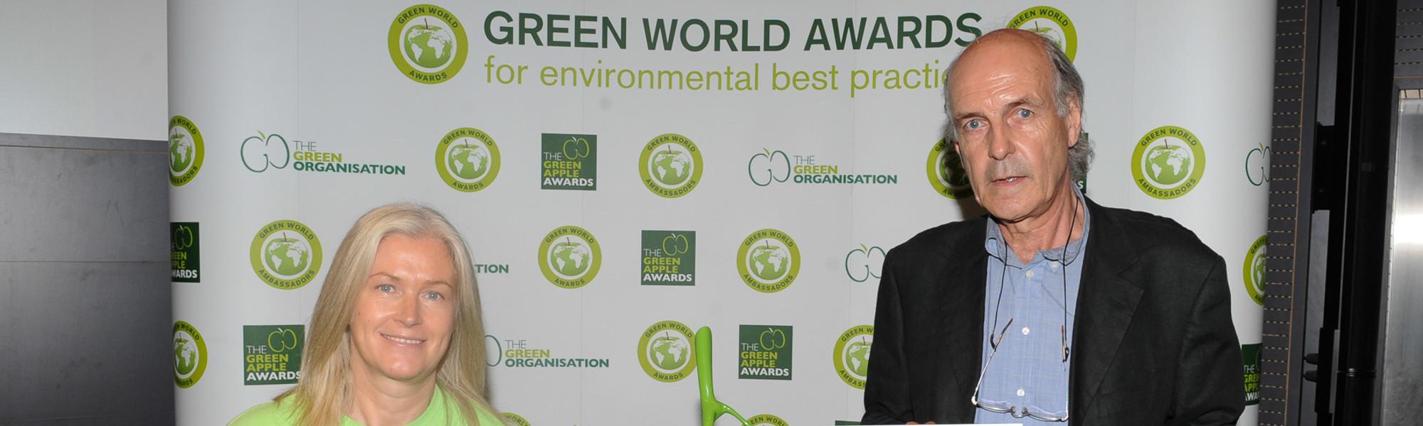 Ecocel Wins Green World Award